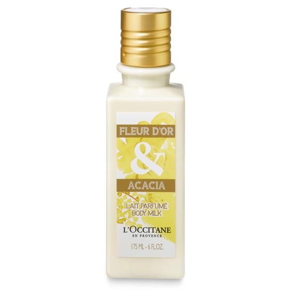 L'Occitane Fleur D'or & Acacia Body Milk 175 ml. โลชั่นน้ำนมบำรุงผิวหอม เนียนนุ่ม ชุ่มชื่น *ลดพิเศษ 50%*