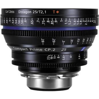 Zeiss CP.2 25mm T2.1 Compact Prime Lens (PL Mount) สอบถามราคาพิเศษ