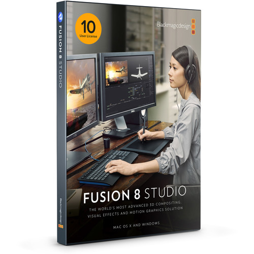 Blackmagic Design Fusion Studio MultiPack with 10-User License