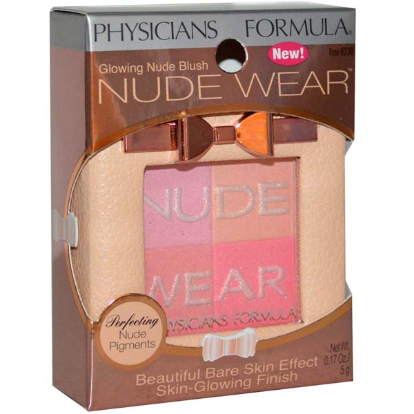 Physicians Formula Nude Wear Glowing Nude Blush #Rose 6238