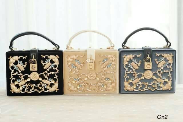 *Dolce & Gabbana Treasure Box Bag *