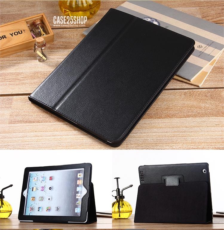 เคสสไตล์เรียบๆ หุ้มตัวเครื่องทั้งหมด (เคส iPad 2/3/4)