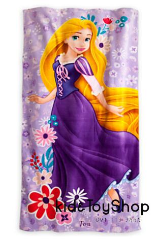 ผ้าเช็ดตัวลายเจ้าหญิงราพันเซล[Disney USA]