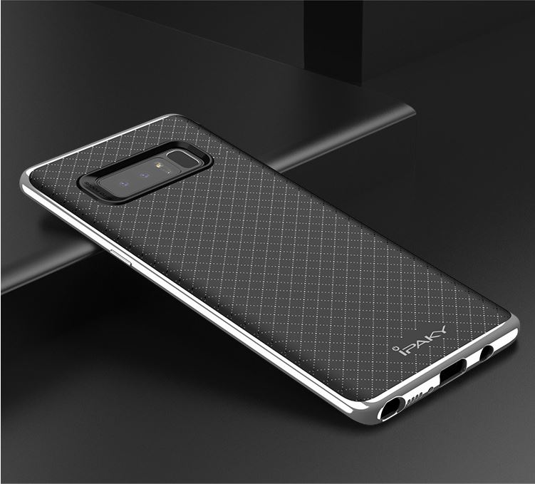 iPaky case samsung galaxy Note 8 -Silver