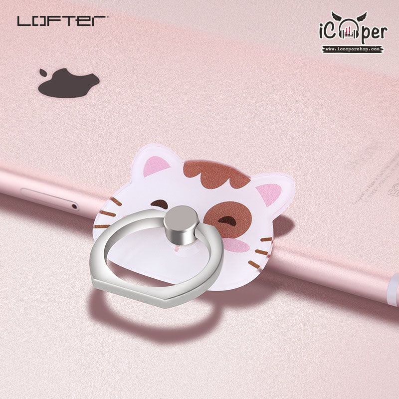 LOFTER iRing PMMA #1 - White Cat
