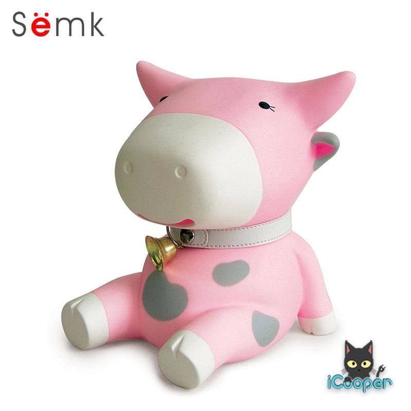 Semk - BuBu Saving Bank (Pink Cow)