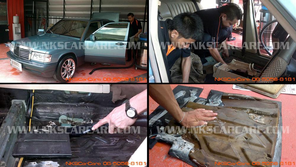 ซักเบาะ ซักพรม NKS Car Care