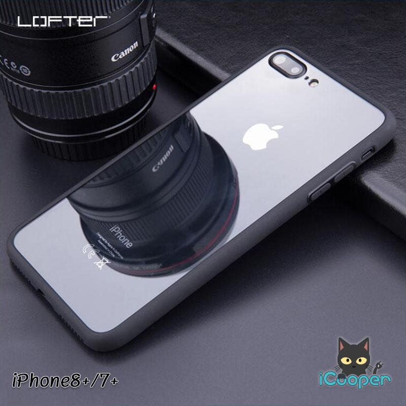 LOFTER TPU Mirror Case - Transparent (iPhone8+/7+)