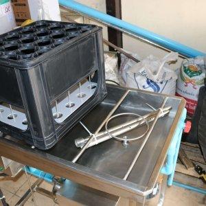 เครื่องล้างขวด+เครื่องล้างถัง(มีปั๊ม)