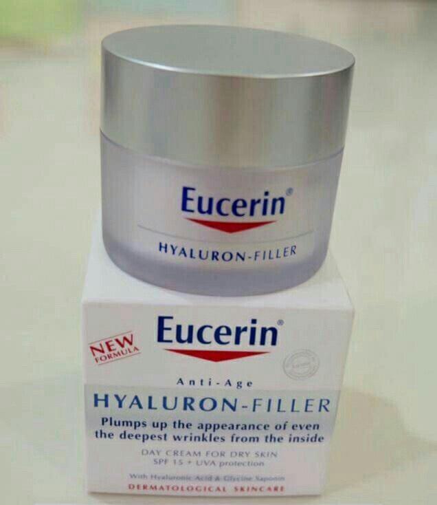 #Eucerin Hyaluron Filler Day spf15 50 ml