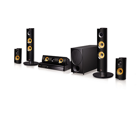 DVD HOME THEATER รุ่นDH6340P 1000W 5.1 CHANNEL
