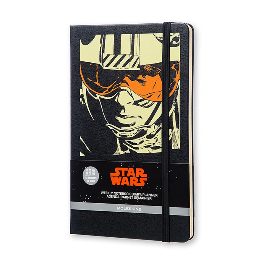 สมุดไดอะรี่ Moleskine Diary 18 เดือน 2016 - Star Wars ขนาด A5