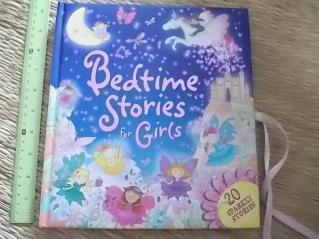 Bedtime Stories For GIRLS (20 Sparkly Stories) Hardback 160 Pages ราคา 250