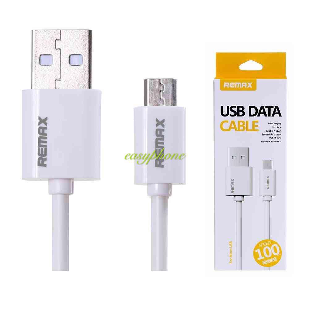 REMAX สายชาร์จ Micro USB DATACable แท้100%