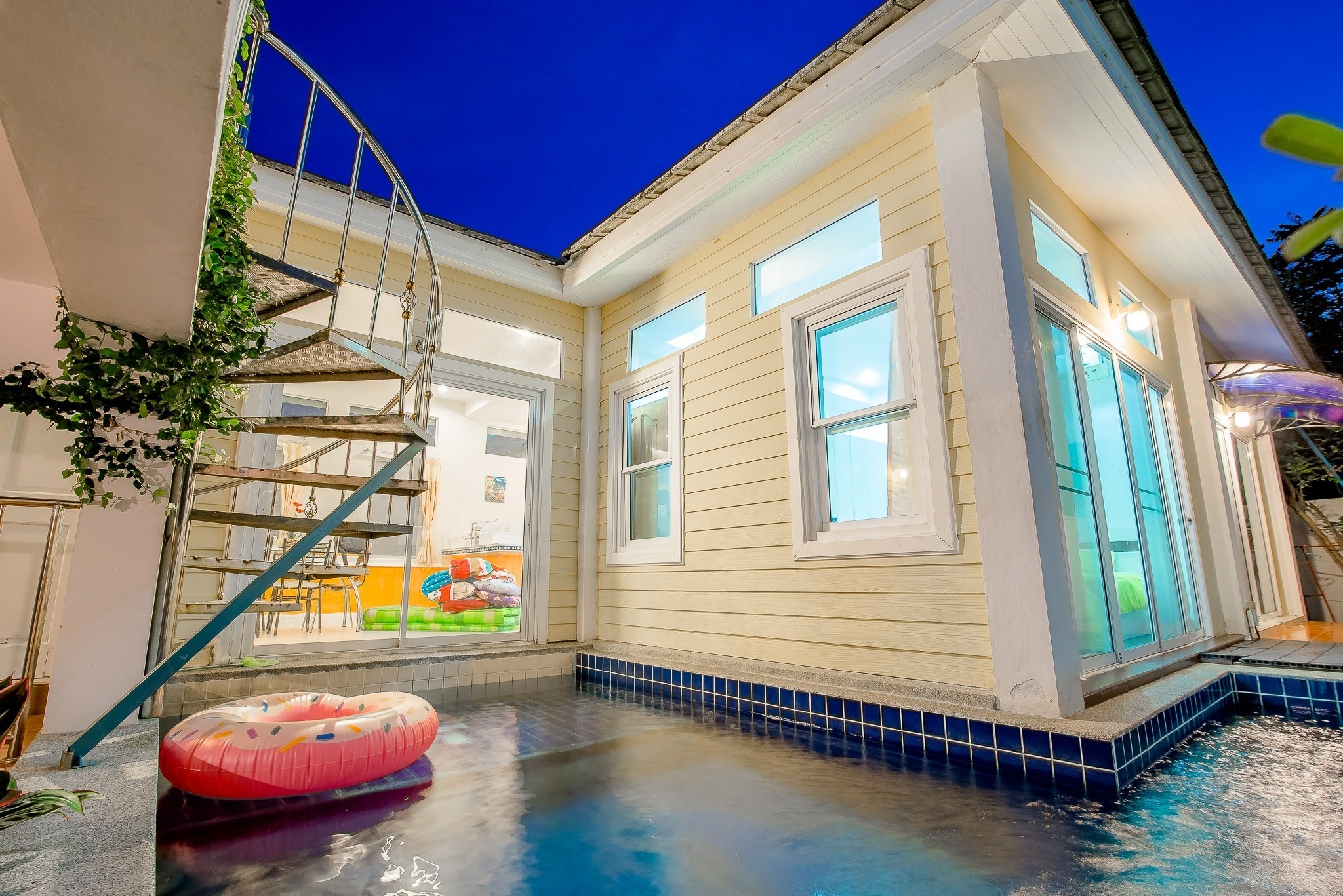 บ้านปันนา พูลวิลล่า หัวหิน 2 ห้องนอน 2 ห้องน้ำ