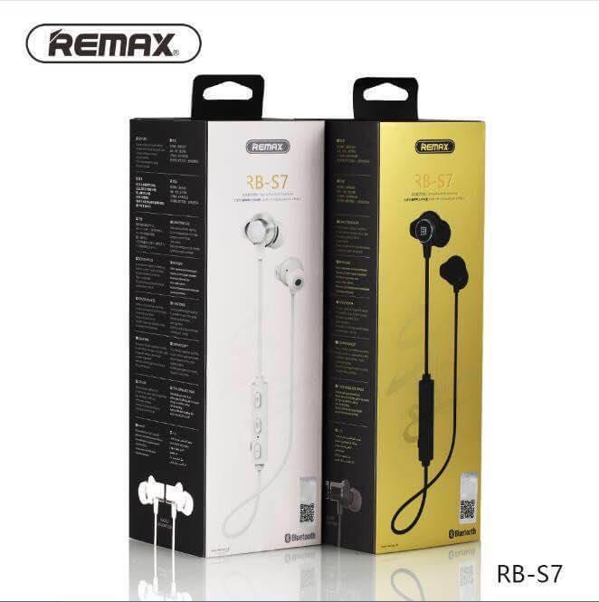 หูฟัง Bluetooth REMAX (RB-S7) แท้ // มีสี ดำ,ขาว
