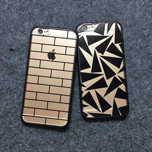 เคสฝาหลังใสอะคริลิค ขอบยางหนา - iPhone6+