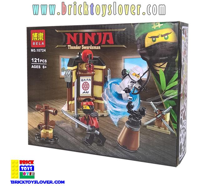 10724 Ninja Ninjutsu ห้องฝึกวิชานินจิสึศิลปะการต่อสู้ของนินจา