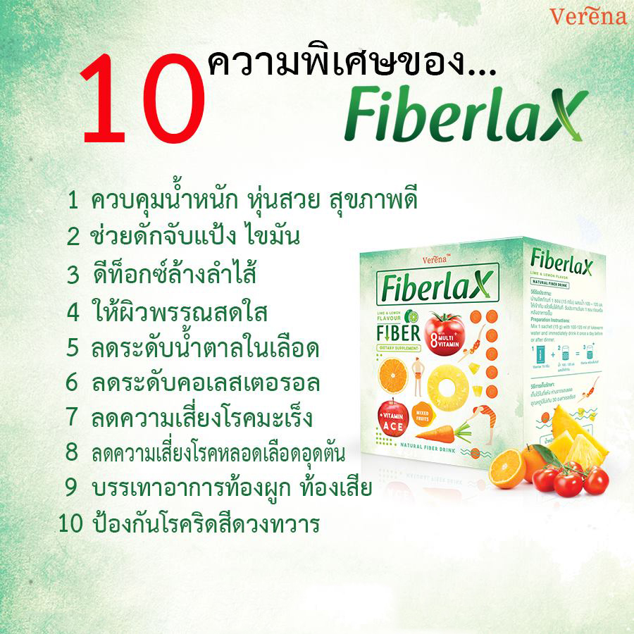 review fiberlax