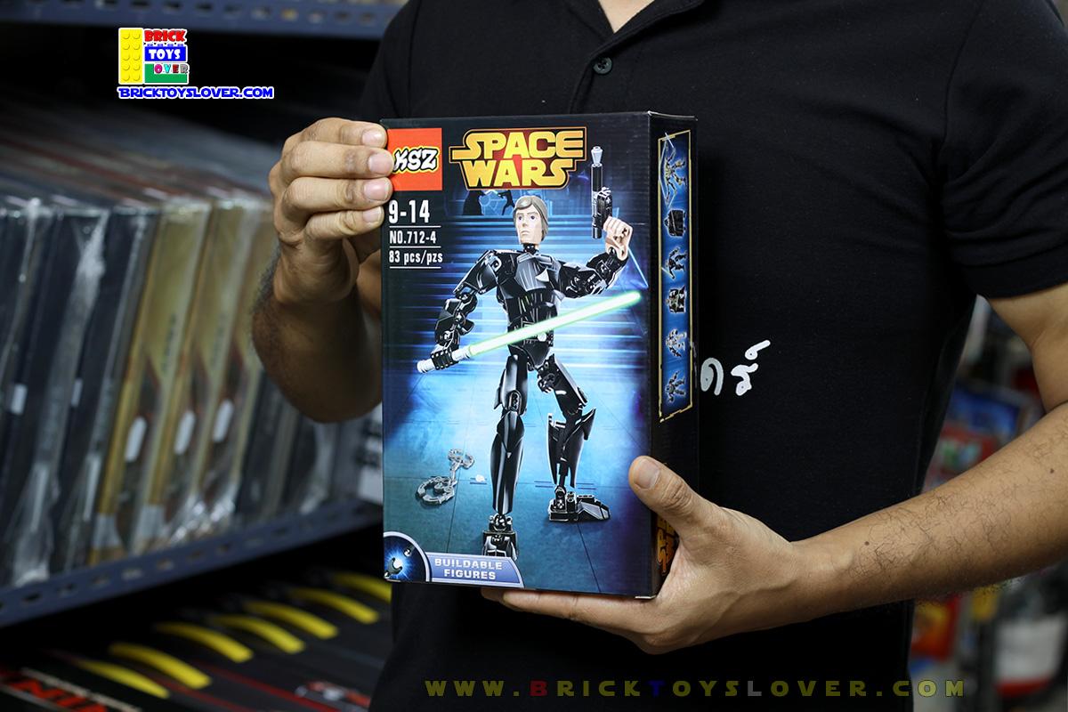 712-4 ฟิกเกอร์ Star Wars ลุค สกายวอล์คเกอร์