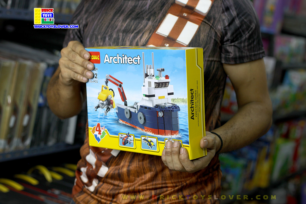 3112 ตัวต่อ Architect เรือสำรวจมหาสมุทร Ocean Explorer
