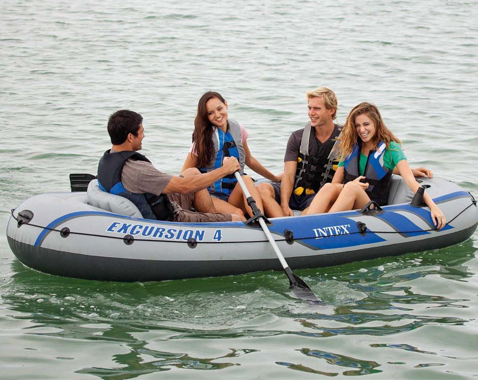 เรือยาง Intex Excursion 4 Set