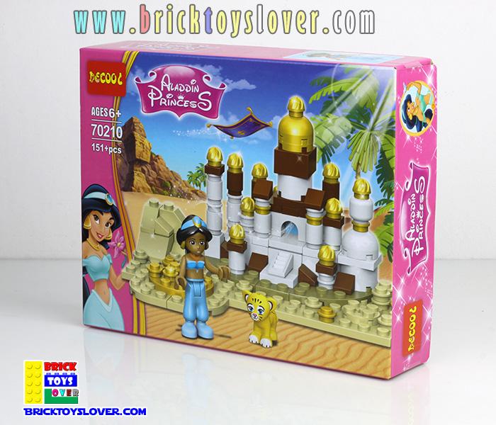 70210 Aladdin Princess เจ้าหญิงแห่งอาหรับจากเรื่องอะลาดินกับตะเกียงวิเศษ