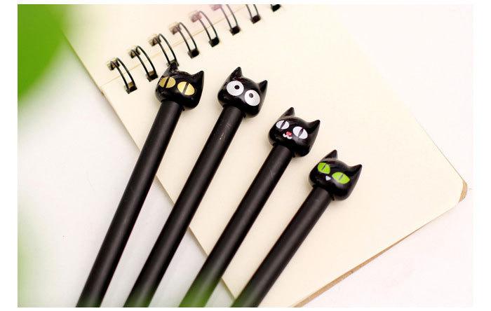 ปากกาทรงแมวดำ