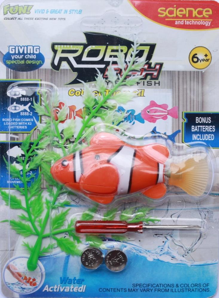 Robo Fish, หุ่นยนต์ปลา