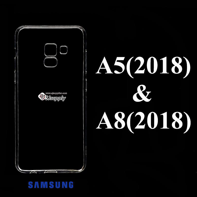 เคส Samsung A5 (2018) ซิลิโคน สีใส