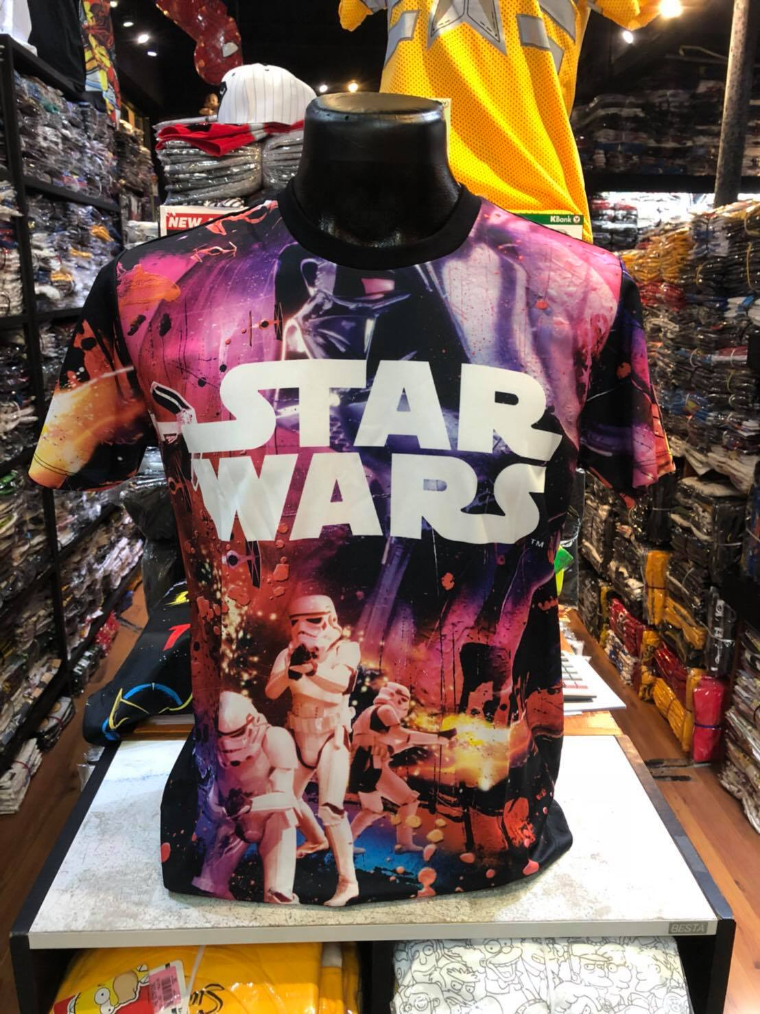 สตาร์วอร์ SCUBA (Darth Vador Storm Trooper)