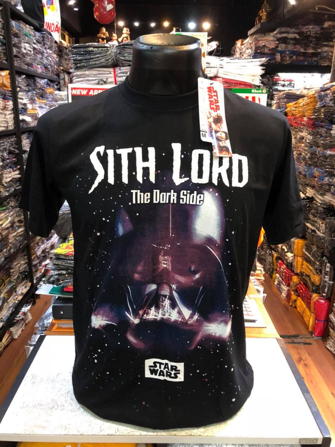 สตาร์วอร์ สีดำ (STH-Sith Lord The dark side black)