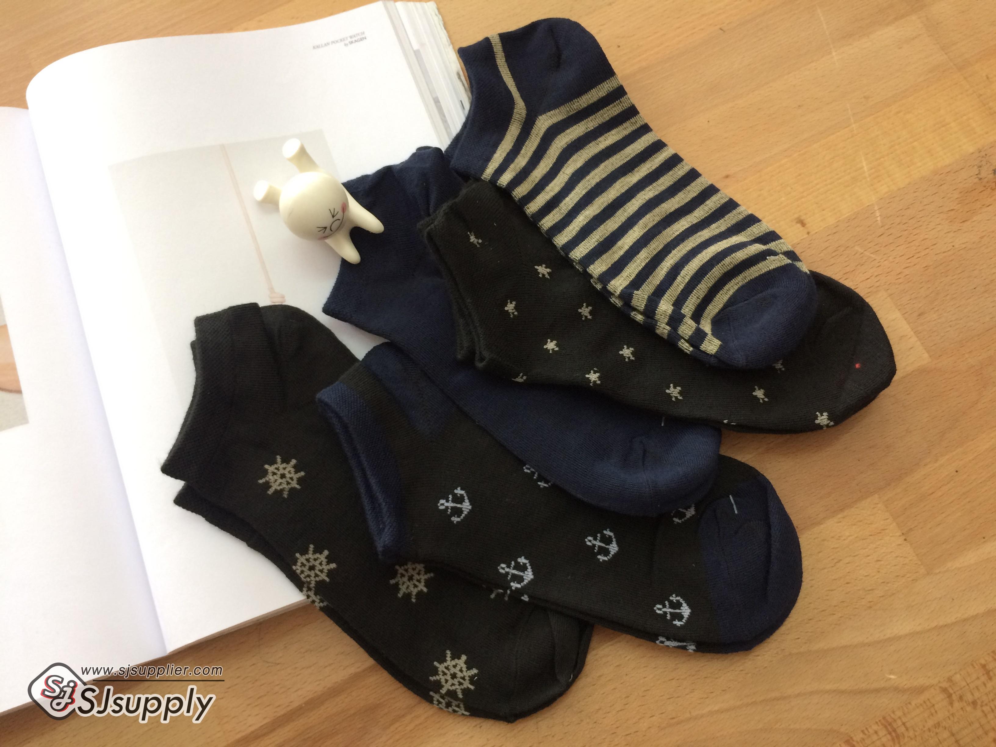 เซตถุงเท้า สีพื้น ลายผสม ( 5 คู่ )