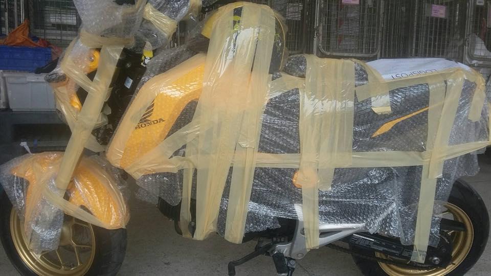 (( ขายแล้ว )) msx สีเหลืองดำ ส่งไปอุบลเรียบร้อยแล้วครับ