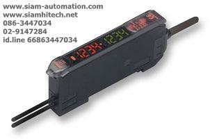 ไฟเบอร์แอมพลิฟายเออร์ ยี่ห้อ Omron รุ่น E3X-DA41-S (Used)