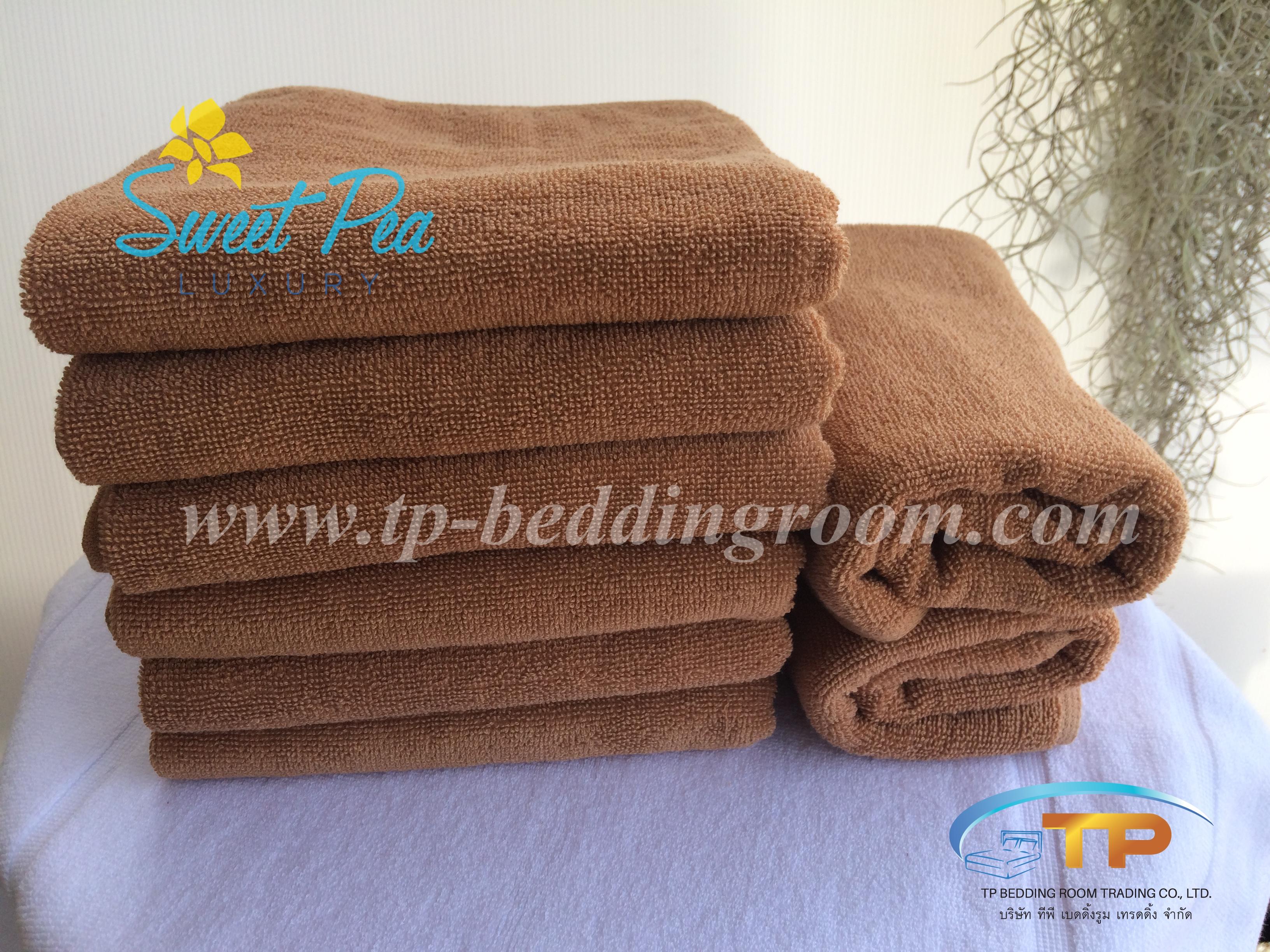 ผ้าขนหนูเช็ดตัวไซส์ฝรั่ง 30″ x 60″ 16 ปอนด์ สีน้ำตาลทอง
