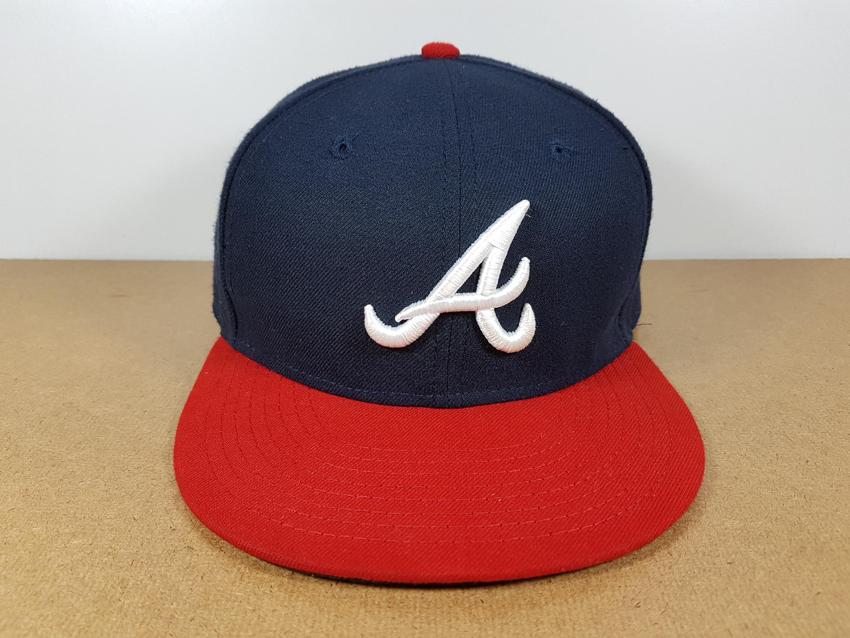 New Era MLB ทีม Atlanta Braves ไซส์ 7 1/4 แต่วัดได้ ( 58cm )