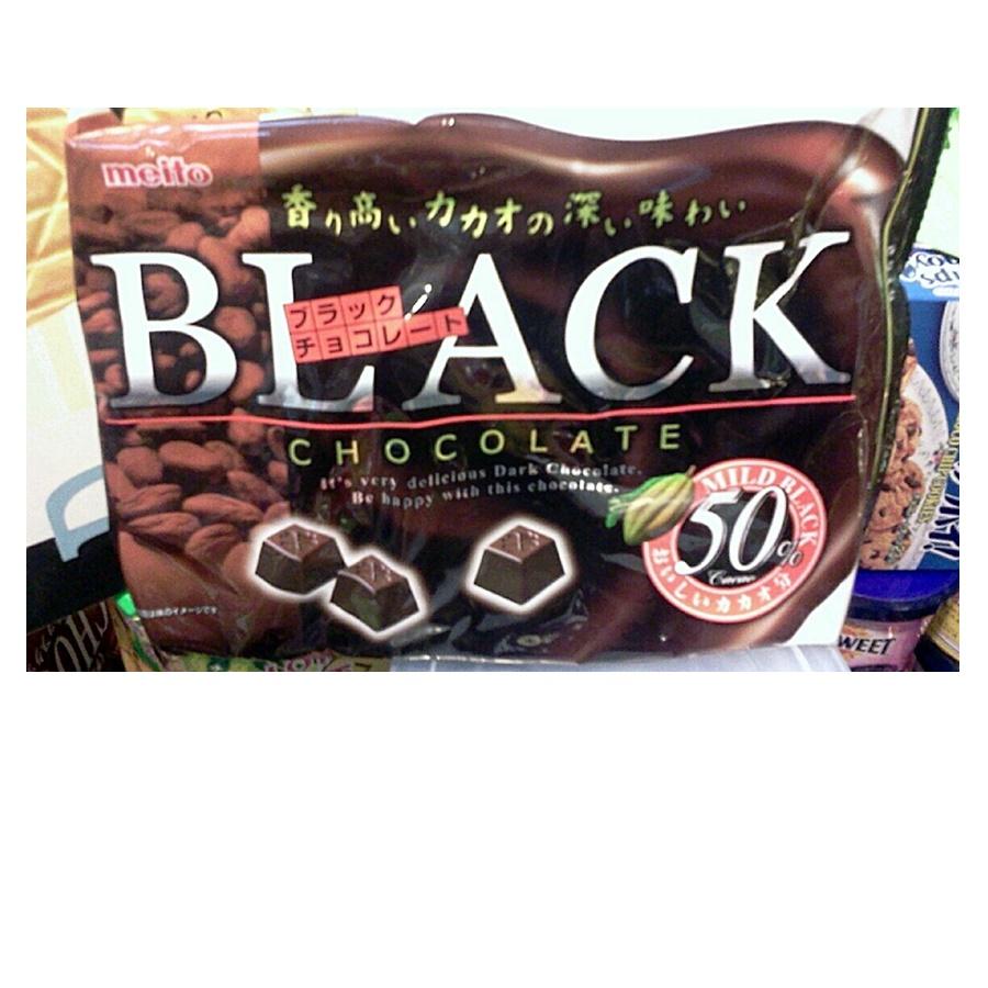 Meito ดาร์คช็อคโกแลตญี่ปุ่น (Meito Black Chocolate)
