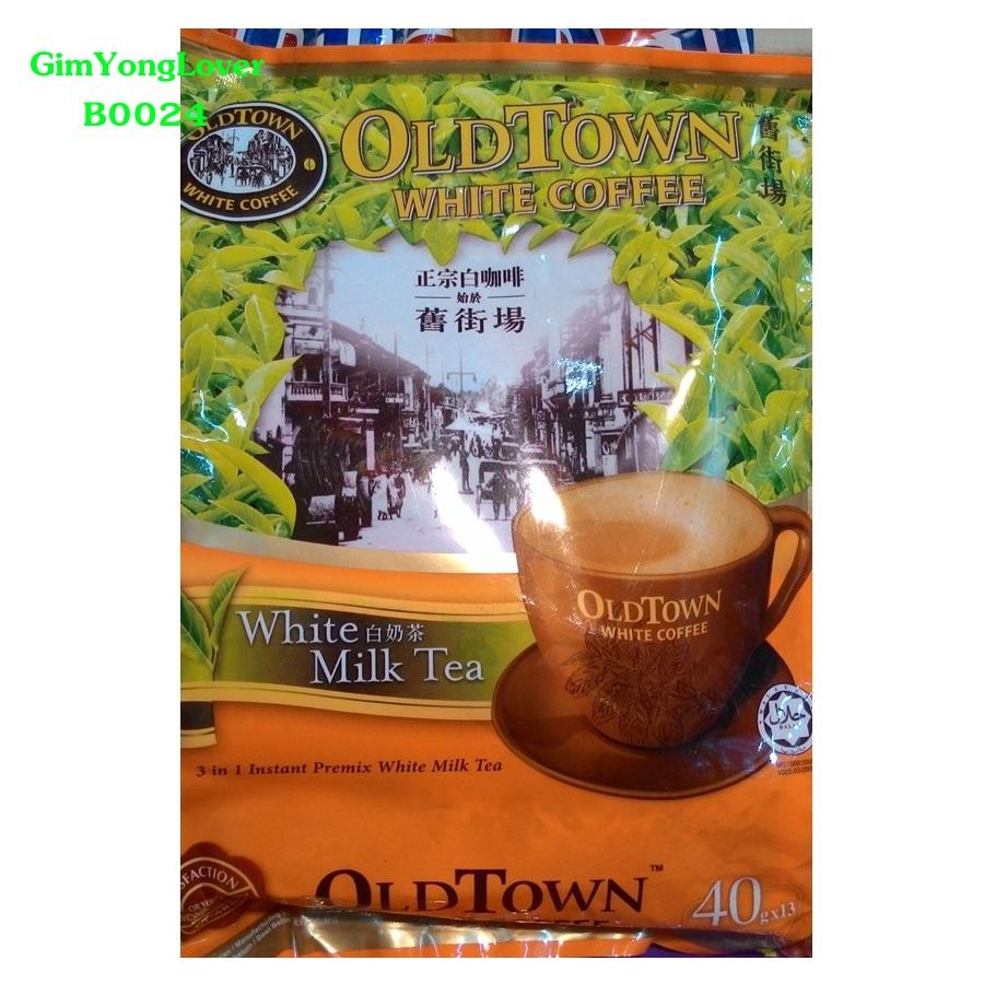 โอลด์ทาวน์ ชานมสำเร็จรูป 3in1 (OLDTOWN White Milk Tea White Coffee)