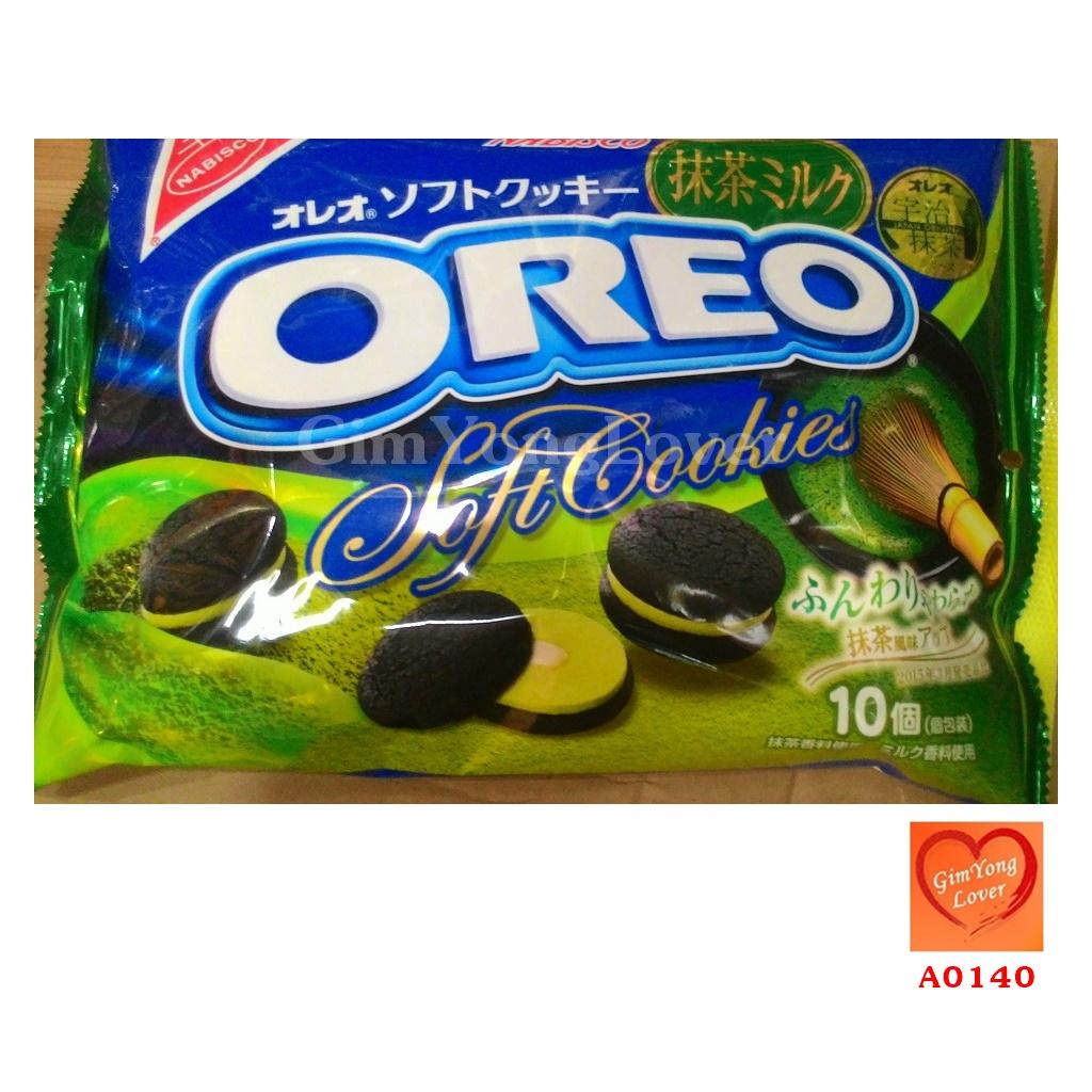 โอรีโอ้ ซอฟท์คุกกี้ชาเขียว (OREO Green Tea Soft Cookies)