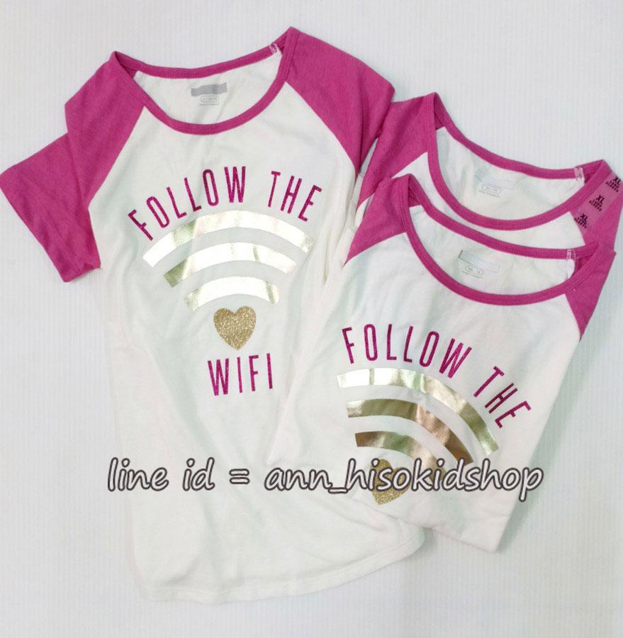 2073 The Children place - white/Pink ขนาด 10-12,16 ปี