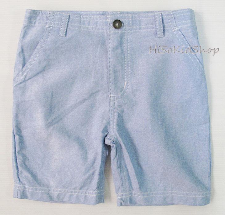 1693 Carter short - ฺฺฺBlue กางเกงขาสั้นสีฟ้าสดใส ขนาด 7 ปี