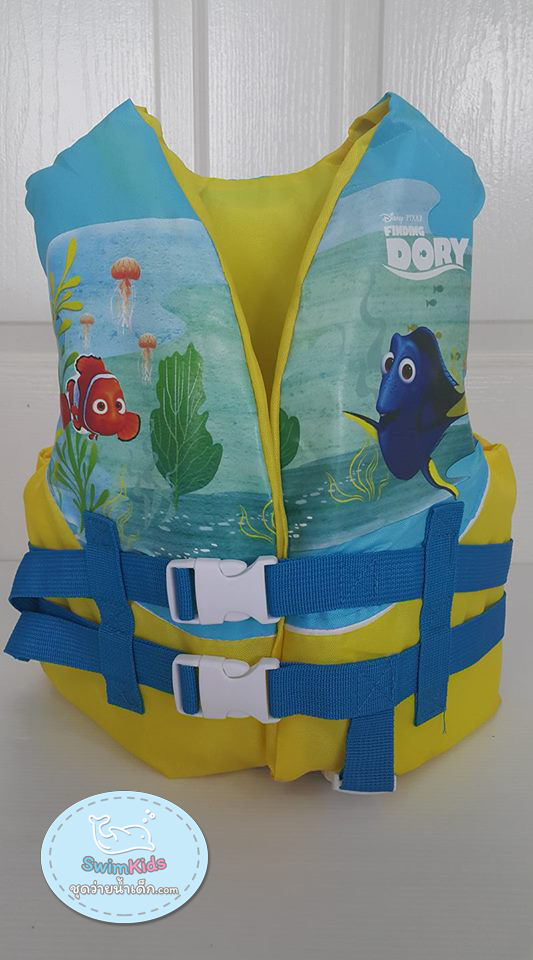เสื้อชูชีพเด็กแบบโฟมลาย ปลา Dory