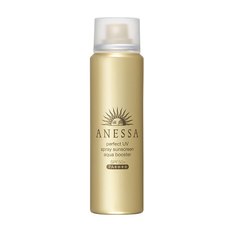 Shiseido Anessa Perfect UV Spray Sunscreen Aqua Booster SPF50+ PA++++ 60g