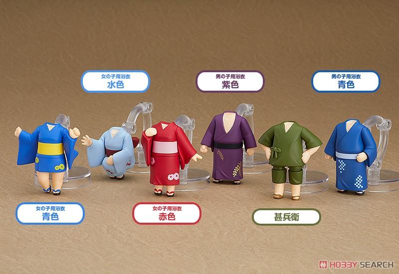 เปิดรับPreorder มีค่ามัดจำ 400 บาทNendoroid More: Dress Up Yukata (1 box มี6 ชุดครับ ) **ไม่มีคนมาให้ครับ**//Brand : GOOD SMILE COMPANY// สูง45 cm