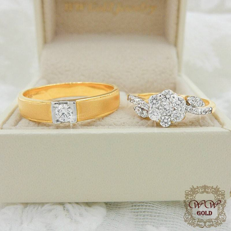 แหวนคู่ราคาประหยัด