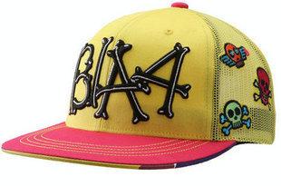 หมวกสีเหลืองปักอักษร B1A4