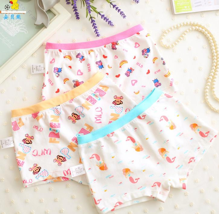 กางเกงในเด็ก คละสี แพ็ค 24 ตัว ไซส์ M
