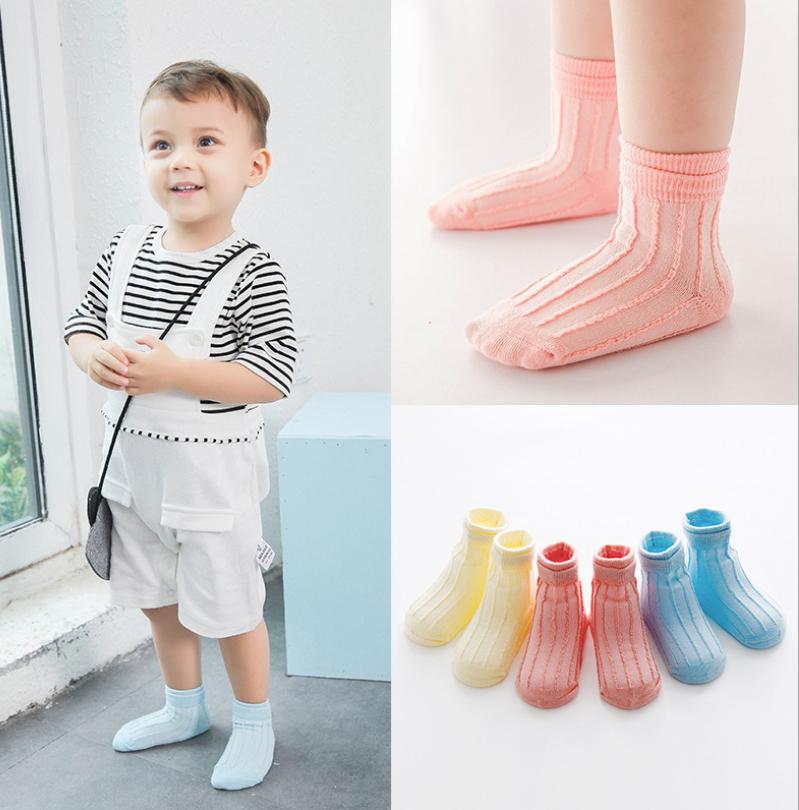 ถุงเท้าสั่น คละสี แพ็ค 12 คู่ ไซส์ M (ประมาณ 1-3 ปี)