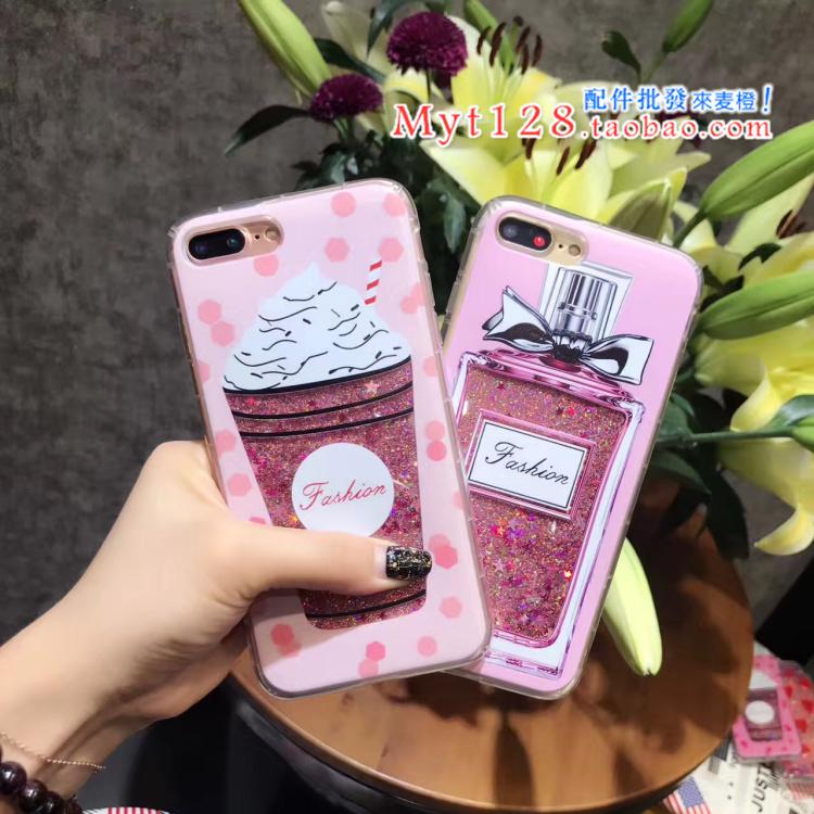 เคส iPhone 6 / 6s (4.7 นิ้ว) พลาสติกกากเพชรลายน่ารักมากๆ ราคาถูก